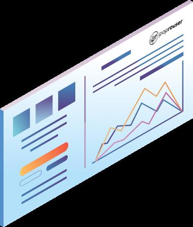 analytics metrics for poprouser